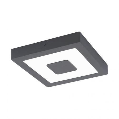 Eglo Outdoor 96489 Iphias Outdoor LED Wall / Ceiling Light Anthracite